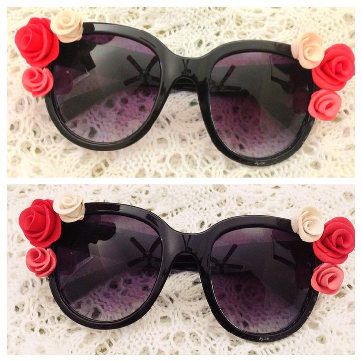 DIY: Baroque Rose Sunglasses