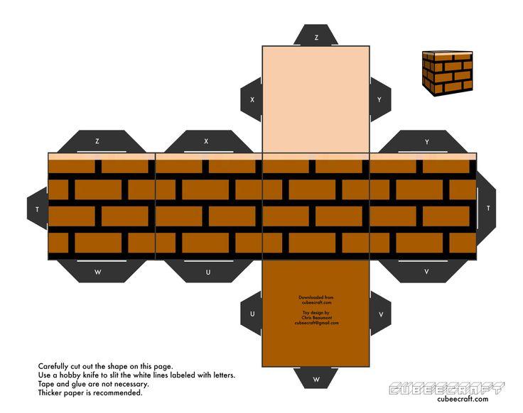 Mario Block Cubeecraft