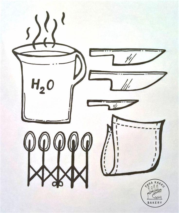 Paha Kakku Bakery | Levyleivosten leikkaaminen