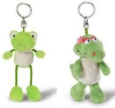 Nici Plüsch Schlüsselanhänger Frosch Kolja 39560 oder Krokodil Nahla 39561 Neu