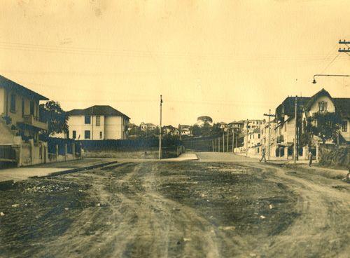 Avenida Nove de Julho (06/09/1935) - Obras de abertura da Avenida Nove de Julho, no bairro da Bela Vista.