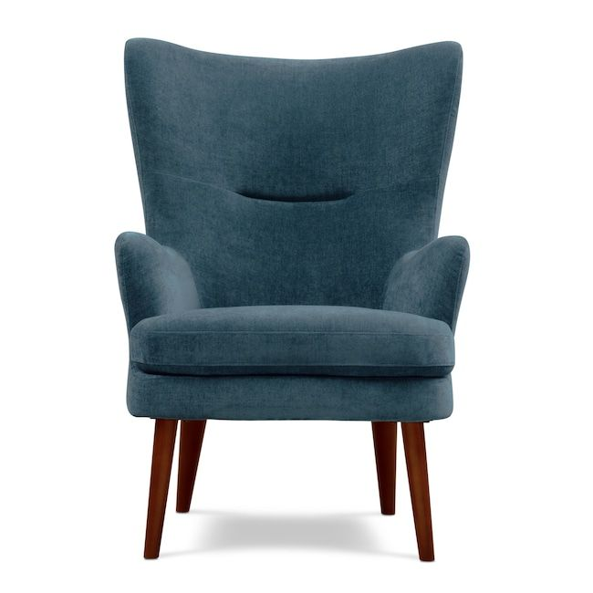 Perkins Accent Chair Teal Value City Furniture And Mattresses