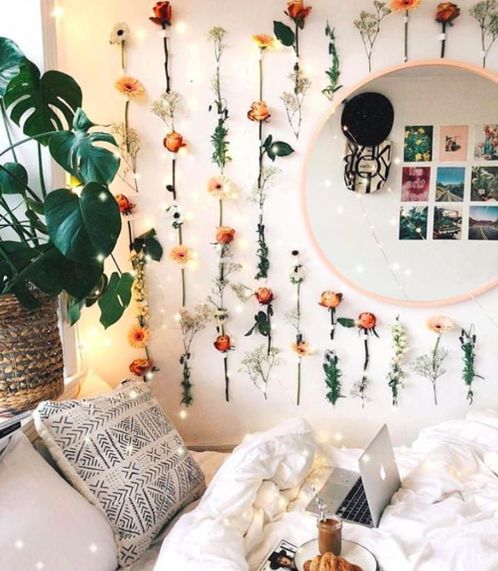 14 Actually Doable Ways To Make Your Home Instagram Worthy In 2020 Cute Bedroom Decor Cute Wall Decor Bohemian Room Decor