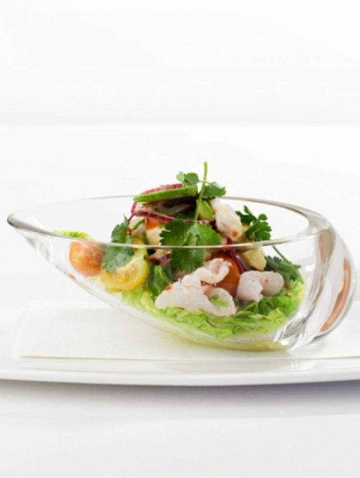 10x De lekkerste avocado recepten | Ceviche van heilbot met avocado en grapefruit | ELLE Eten