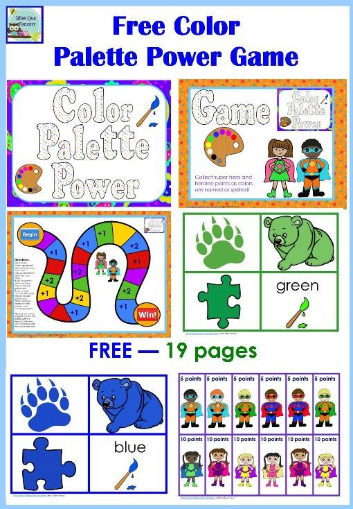 24 best Activities to Teach Colors to Preschoolers images on ...