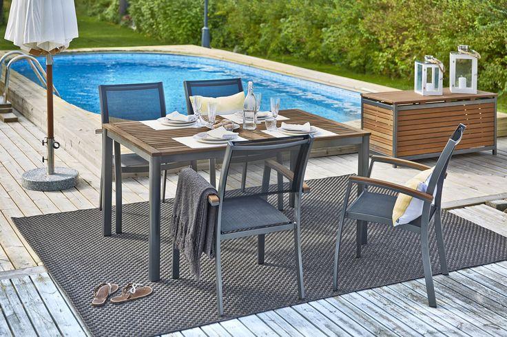 DELTA-pöytä ja 4 tuolia. #sisustusidea #sisustaminen #sisustusinspiraatio #askohuonekalut #sisustusidea #sisustusideat