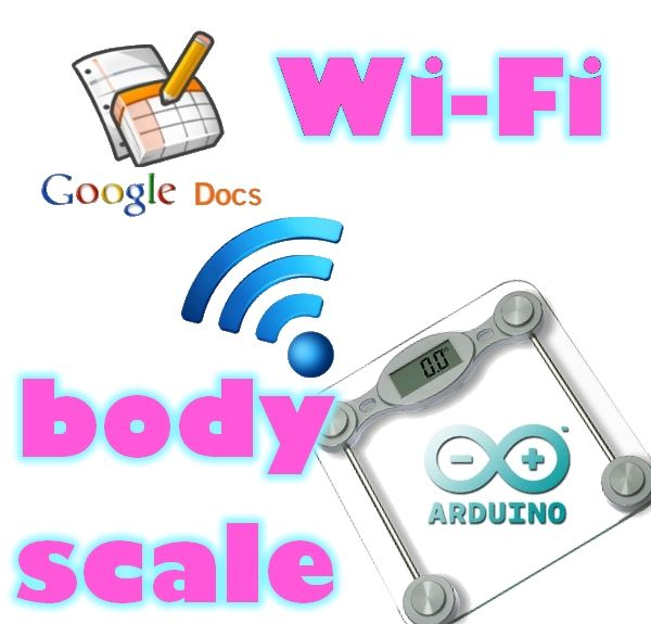 Wi-Fi Body Scale with Arduino.  Fun project that will save money!