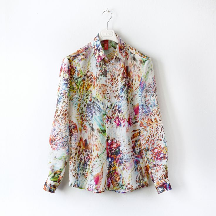 FRENN SS14 - Aaro digiprinted linen shirt www.frenncompany.com