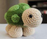 1500 Free Amigurumi Patterns: Sheldon Turtle