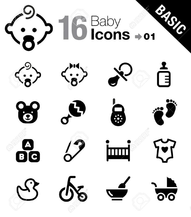 17896103-Basic-Baby-icons-Stock-Vector-baby-icon-pictogram.jpg (1140×1300)