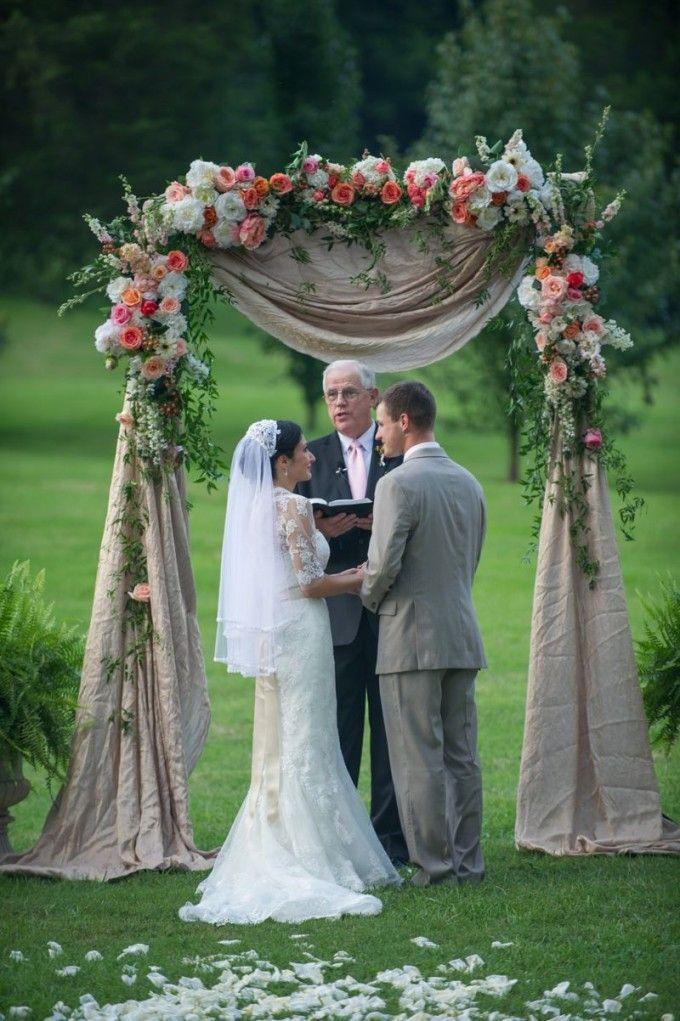 Romantic Pink and Coral Summer Wedding at Historic Cedarwood | Cedarwood…