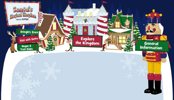 Visitor Information: Tickets, Hours, Directions | Santa's Magical Kingdom St. Louis