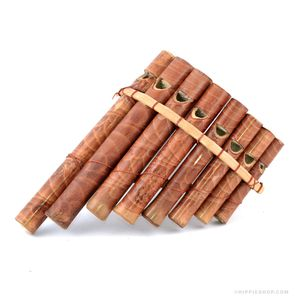 Curved Wood Pan  Flute