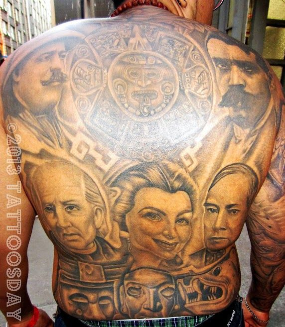 Post tattoos that are connected to latin america for Mexican heritage tattoos