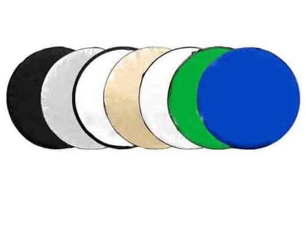 CamerasDirect Collapsible Reflector Disc - 7 in 1 - 110cm