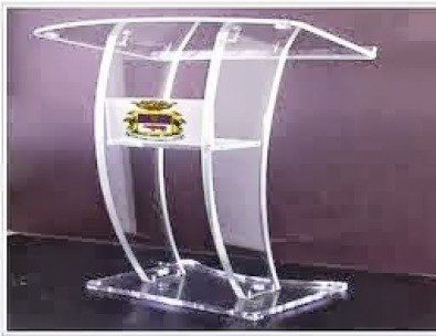 There are no traffic jams along the extra mile. At 4 Africa we have reason to believe that we are the most prolific Perspex lectern and podium manu | 40751763