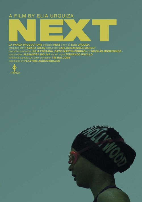 Next > Movie Poster, design by Enrique Piñuel
