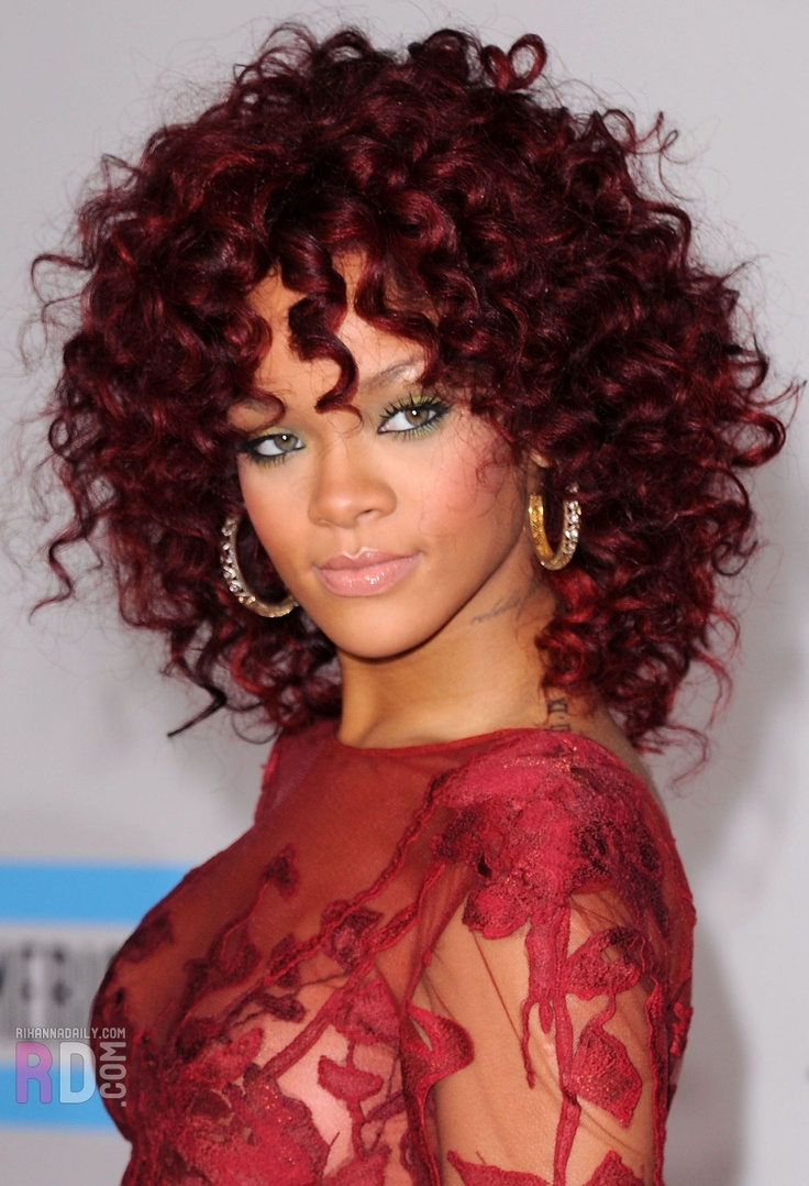 Rihanna red