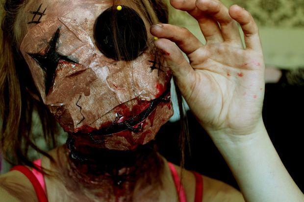 Picture of Voodoo doll Halloween Costume                              …