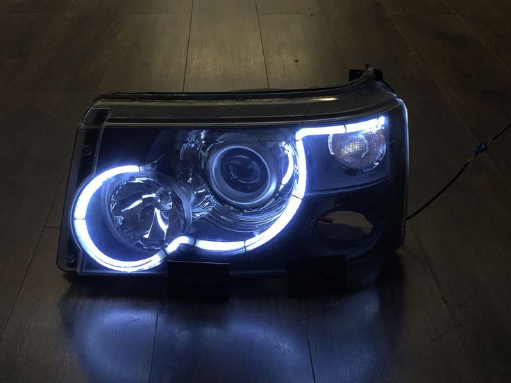 Range Rover Sport 2005-2009 LED Headlight Upgrade to 2015 Style - MEDUZA Ltd