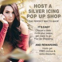 Come shop with me! Online Silver Icing Pop-Up Shop! Silver Icing Pop-Up Shop #fashion #silvericing #clothing #shopping