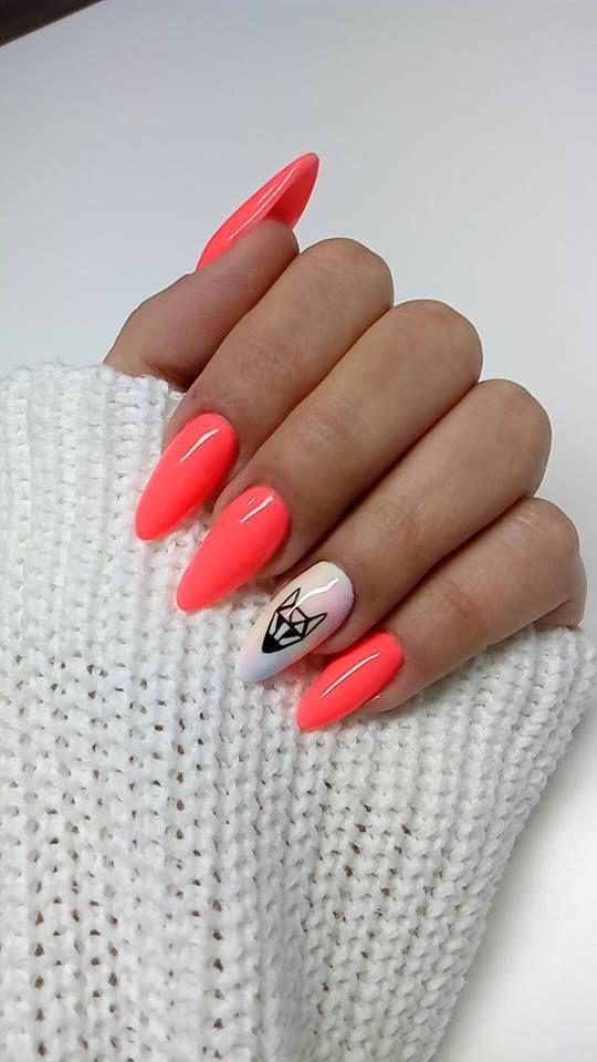Gel Polish Vitamin C #neon #winter