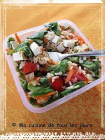 Ma cuisine de tous les jours: Salade de riz au miso