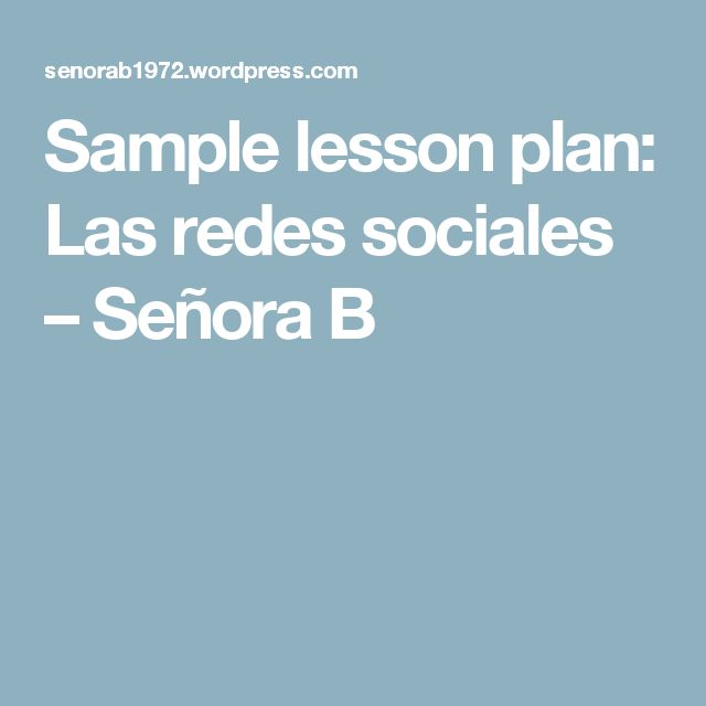 The 25+ best Lesson plan sample ideas on Pinterest Sample of - lesson plan