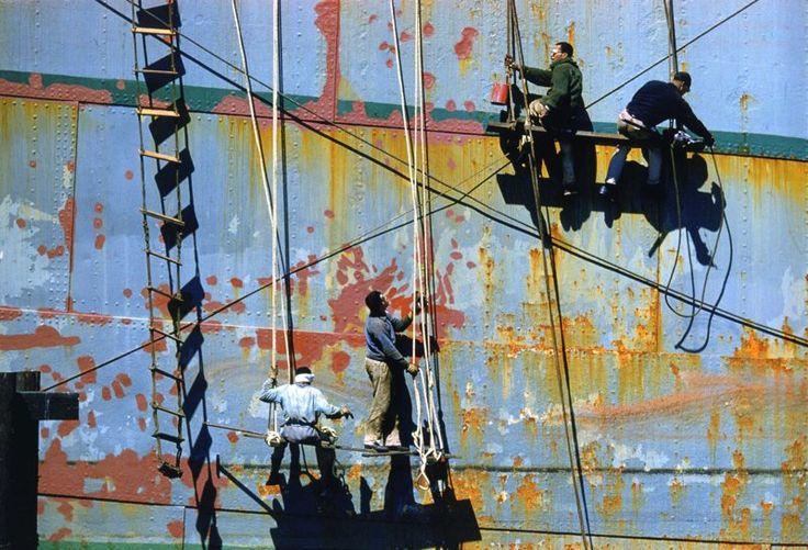 Maritime Mural Fred Herzog, 1960