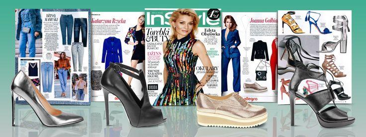 W magazynie INSTYLE styliści zaprezentowali, aż cztery modele marki Wojas z wiosenno - letniej kolekcji: klasyczne szpilki w modnym srebrnym odcieniu (https://wojas.pl/produkt/23203/czolenka-6351-59), eleganckie sandały na obcasie (https://wojas.pl/produkt/24372/sandaly-damskie-6798-51),czółenka w nowoczesnym wydaniu na wysokim obcasie (https://wojas.pl/produkt/18405) oraz wygodne półbuty w odcieniu złota na gumowej podeszwie (https://wojas.pl/produkt/22965/polbuty-damskie-6501-58)…
