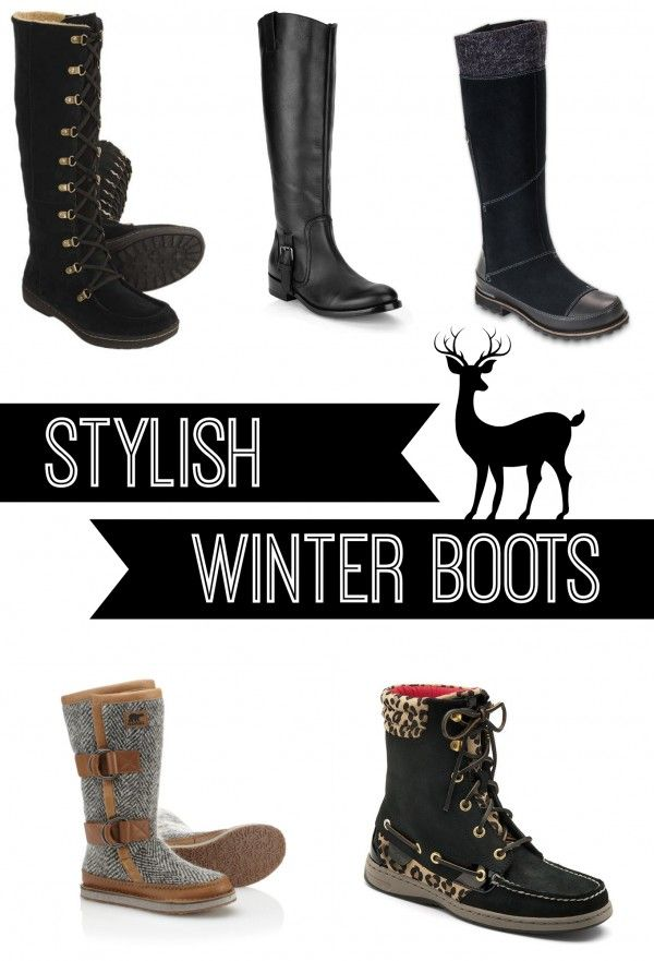 Fashion Friday: Stylish Winter Boots!