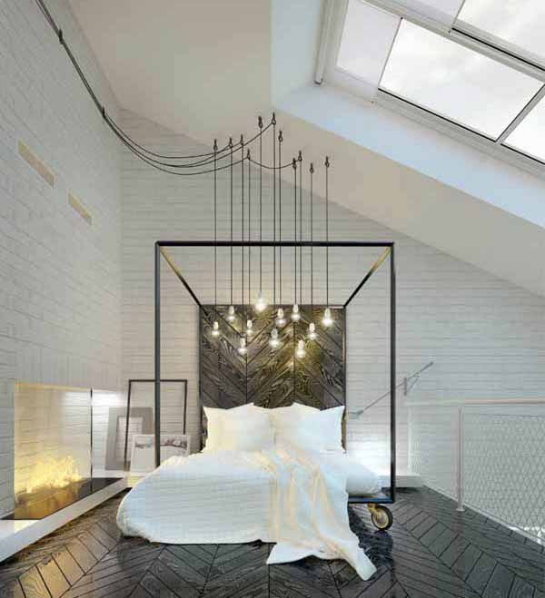 Incredibly unique and inspiring bedroom design