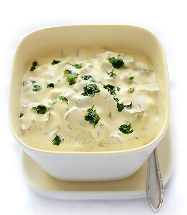 How to Make TARTAR SAUCE - with a few everyday ingredients from your fridge and 1 minute of your time - kitchennostalgia.com