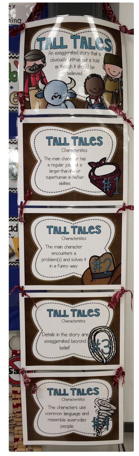 Spring Break is finally here and I am looking forward to some much needed R&R. My class learned all about Tall Tales before the break and I...