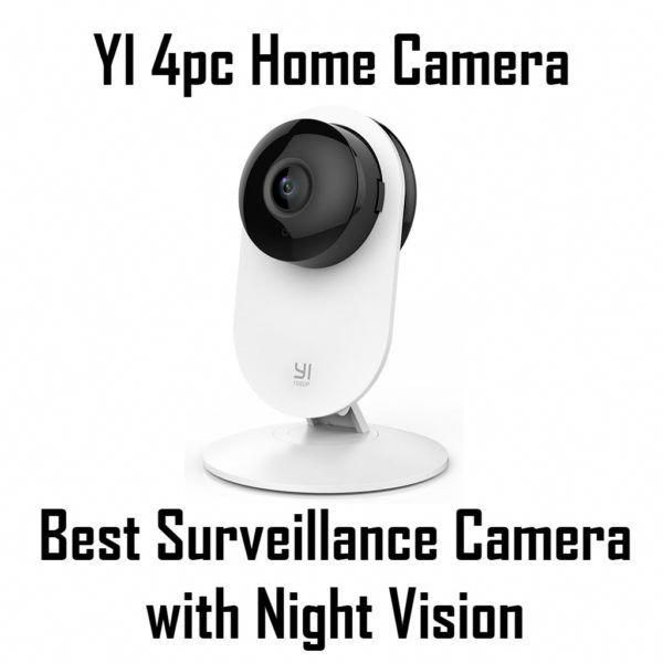 Yi 4pc Home Camera Overall Best Surveillance Camera With Night Vision Best Wireless Ho Wireless Home Security Cameras Security Cameras For Home Home Security