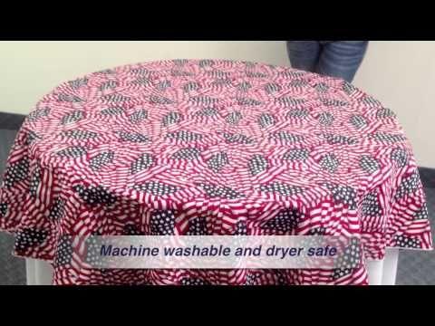 Flag Tablecloth Fabric