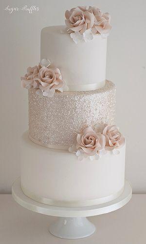 Gedämpftes dunkles Rosa & Glitzer | Charlotte | Flickr   – Wedding Inspiration ❤️