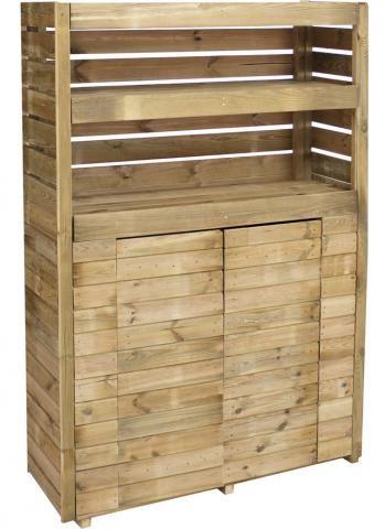 1000 ideas about armoire de jardin on pinterest etagere pour plante meubles pour petit patio - Armoire sur mesure leroy merlin ...