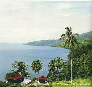 Lake Ranau, Lampung.