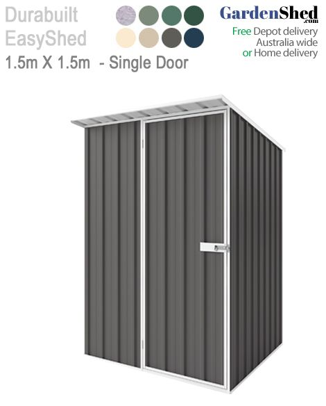 Garden Shed 'skillion roof' for extra storage and run-off. We are the garden shed experts at GardenShed.com. Call 1800 272 681 now.