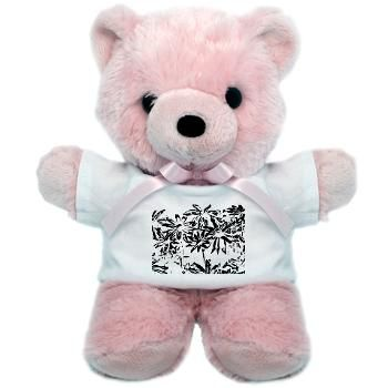 Transparent flowers Teddy Bear