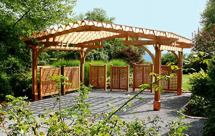 "Large Carport Pergola - An opportunity to design a large ""carport pergola"" on…"