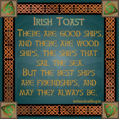 Irish toast - Friendship