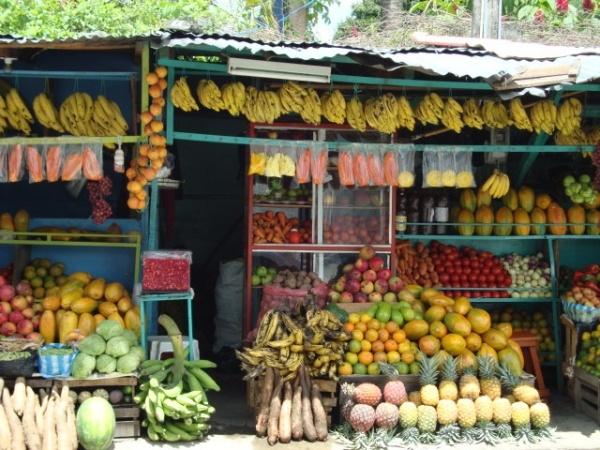 Venta de frutas-Colombia