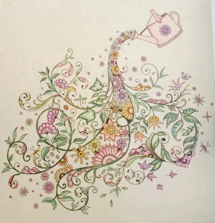 Take A Peek At This Great Artwork On Johanna Basfords Colouring Gallery Garden Pictures