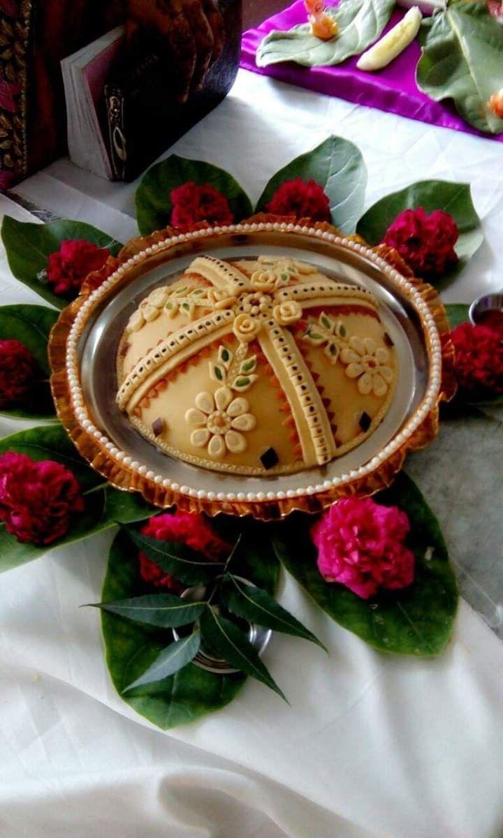 Pin By Liliane On Les Gateaux Sweet Decoration Thali Decoration Ideas Food Decoration