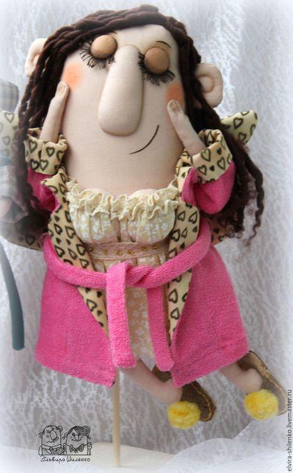 Коллекционные куклы ручной работы. ангел-хранитель женского счастья. Эльвира…