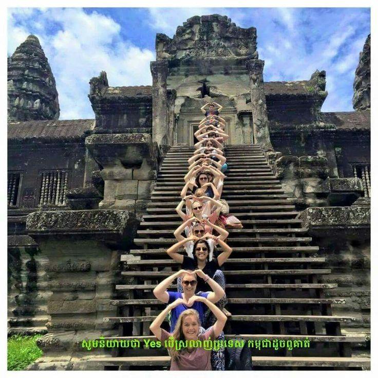 We love Cambodia.