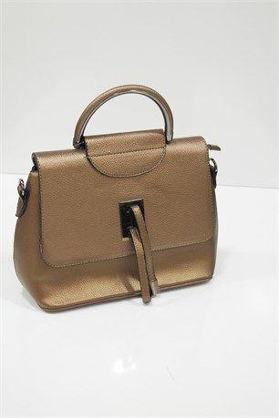 Çapraz Kullanımlı Çanta - Bakır - Can Bag çanta modelleri, sırt çantası, yılan derisi, tutmalı çanta, çanta markaala.com.tr #moda #fashion #diy #tesettür #çanta