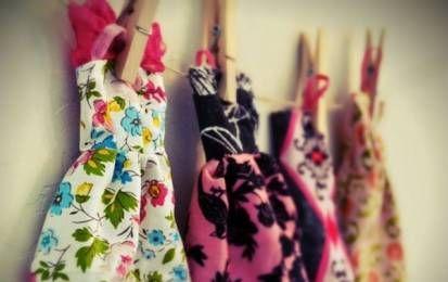 Hacer vestidos para la Barbie: Patrones y tutorial - Diseñar vestidos para la Barbie, una de las muñecas favoritas de generaciones de niñas, con patrones originales.
